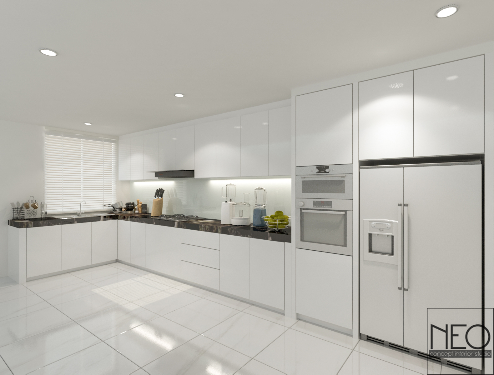 8 Ways To Make a Small Kitchen Look Bigger - Recommend LIVING