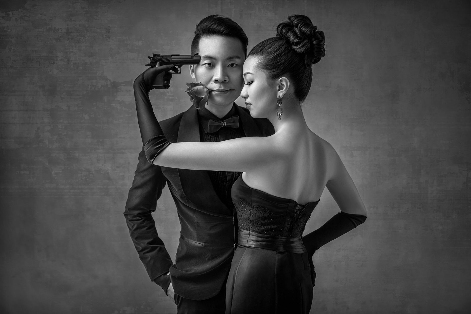 WPPI award0winning wedding photo by Leno Ooi from Destino Bridal
