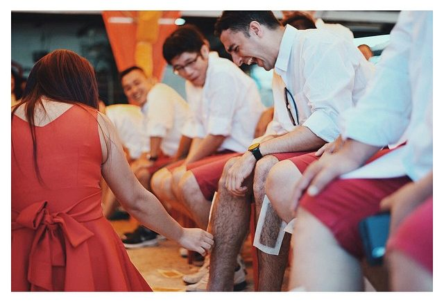 More leg waxing during gatecrash games.