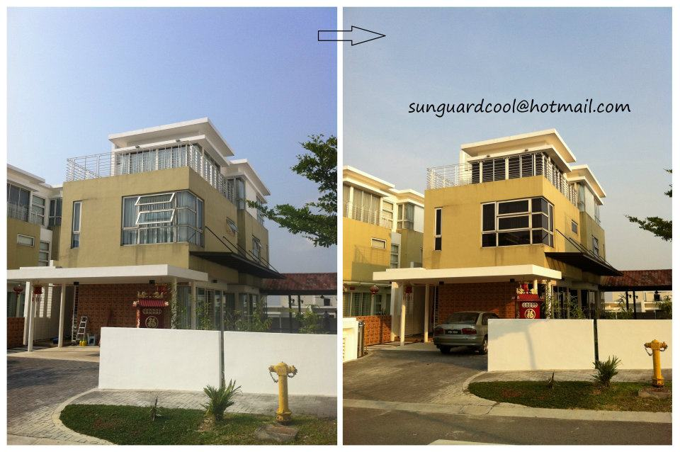 Solar Window Film / House Tint / Office. Source.