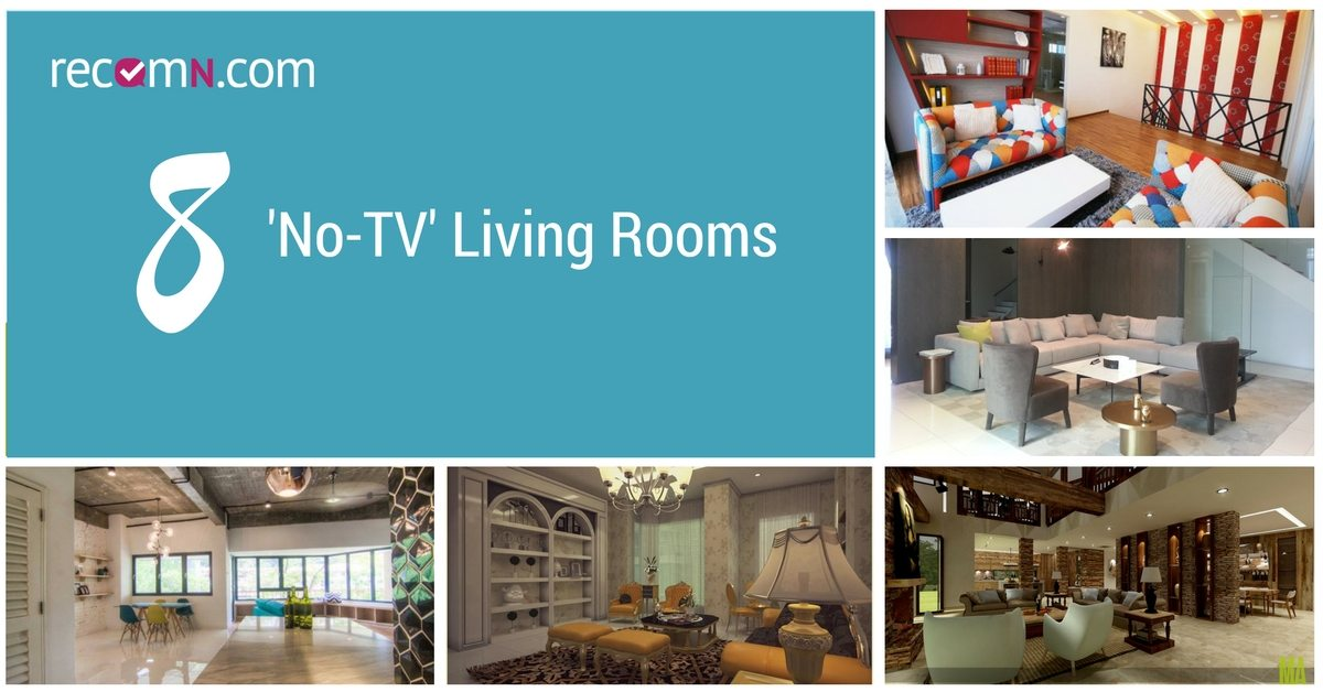 These homes ditched their tv and are better for it for No tv living room ideas