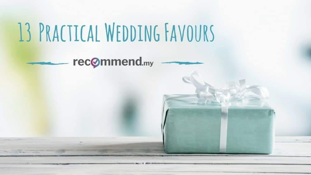 Practical Wedding Favours That Your Guests Will Actually Appreciate