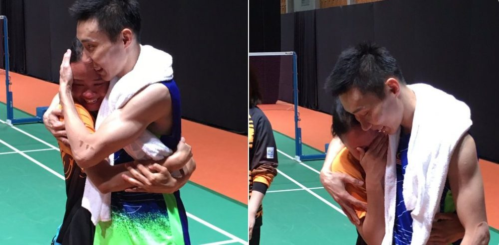 @Pandelela_R crying tears of joy for LCW. From Twitter @khairykj