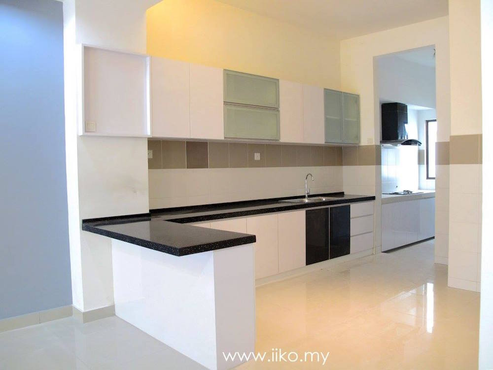 Completed kitchen by IIKO Concept