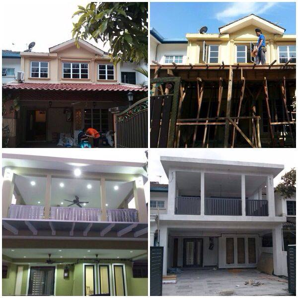 Renovation work in progress by 3DI Renovation Contractor
