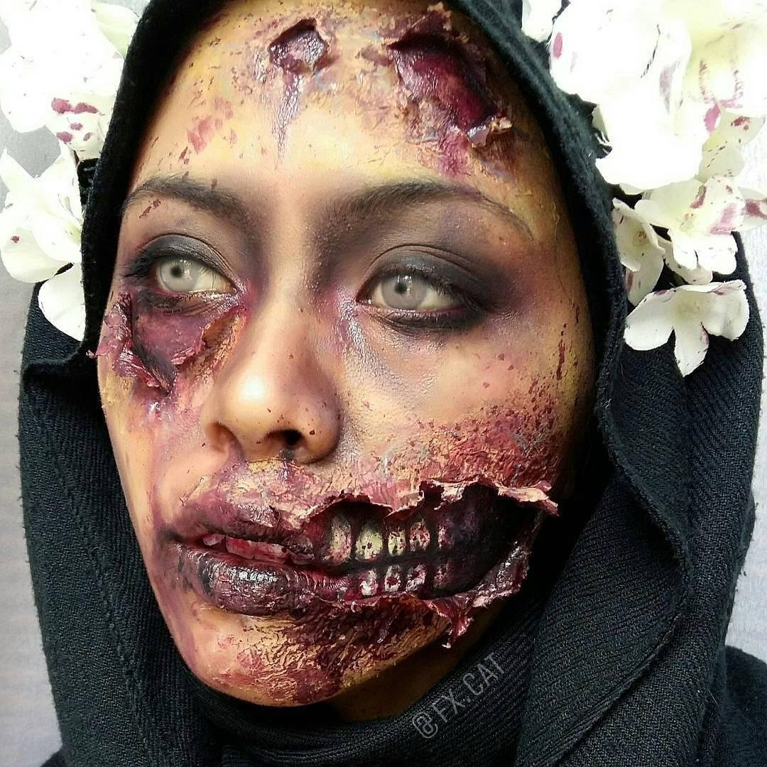 Kekuatan make up dalam kesan horor