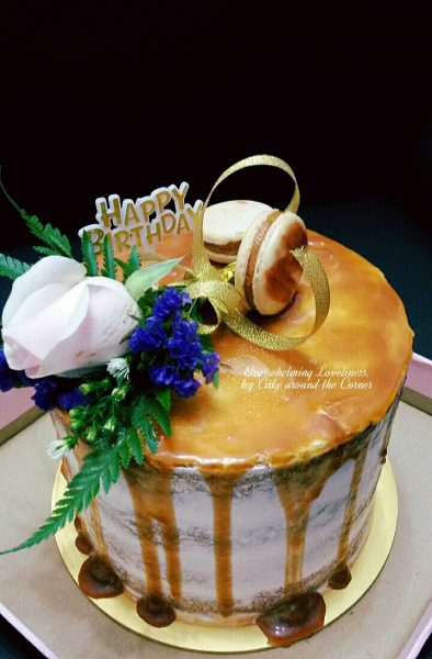 Fresh Flower Cakes By Cake Around The Corner Source