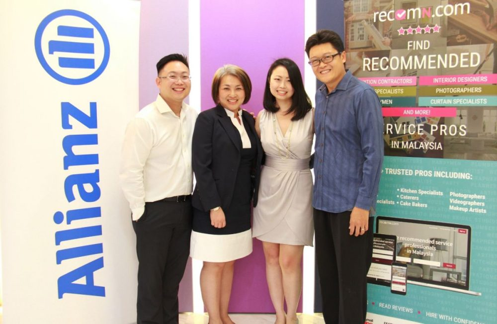 RecomN and Allianz Partner to Make it Safer to Hire Services in Malaysia