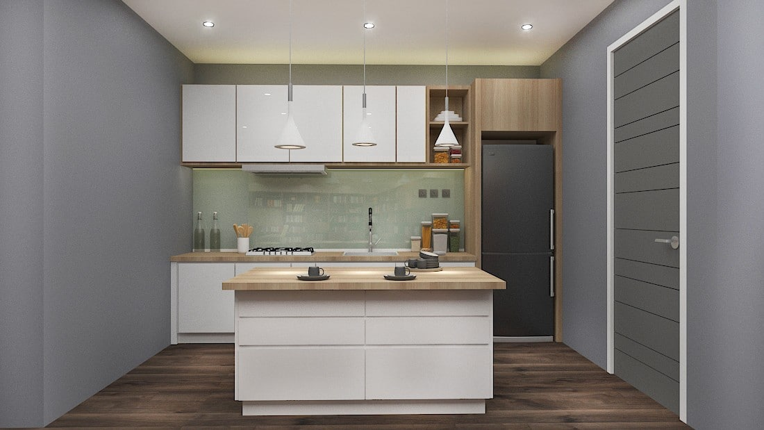 NATURA - made-to-measure island kitchen package by Recommend.my