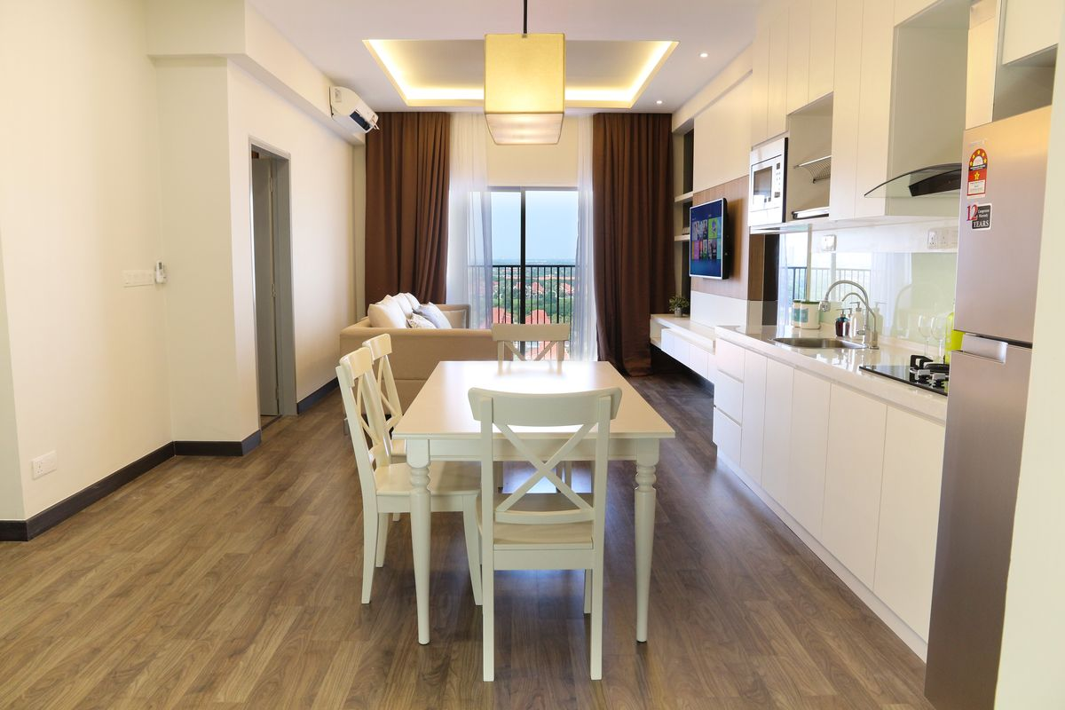 792 sqft condo in Puchong gets a stylish makeover