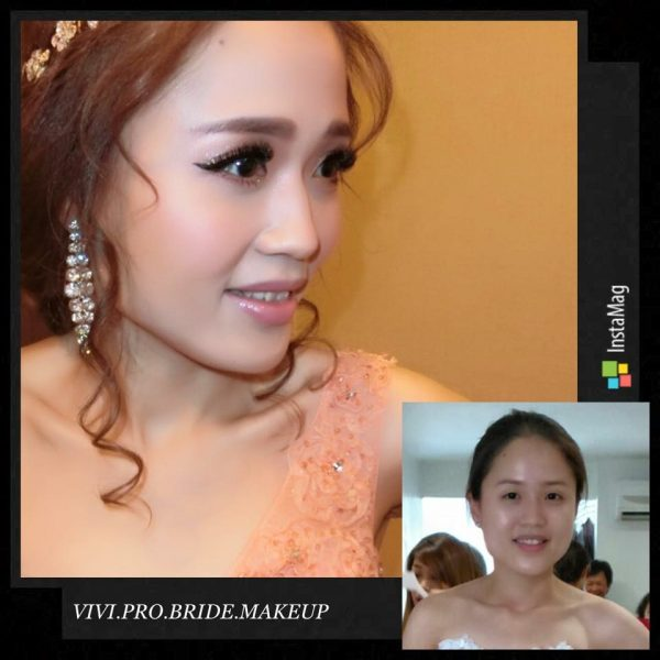 VIVI Bridal Makeup. Source.