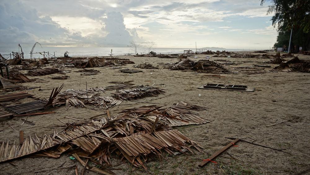 Aftermath of storm in Terengganu