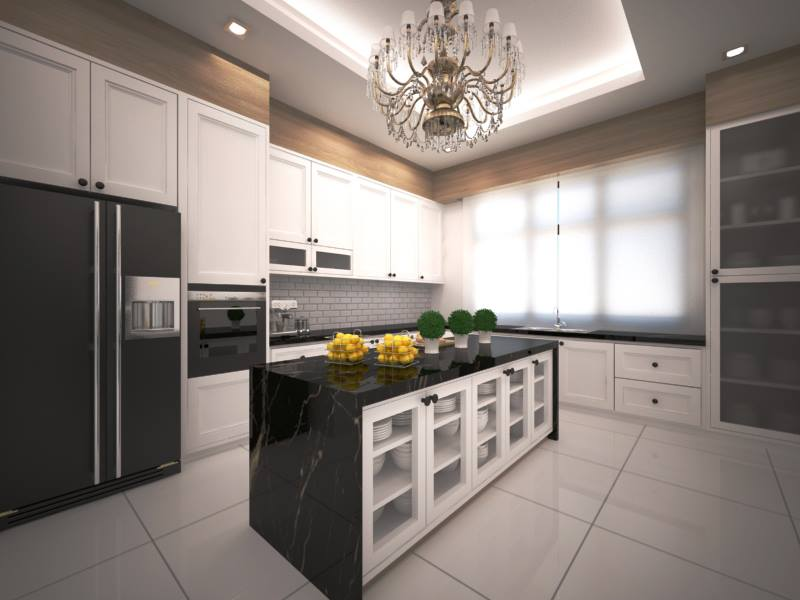 20 Popular Kitchen Cabinet Designs in Malaysia | Recommend.my