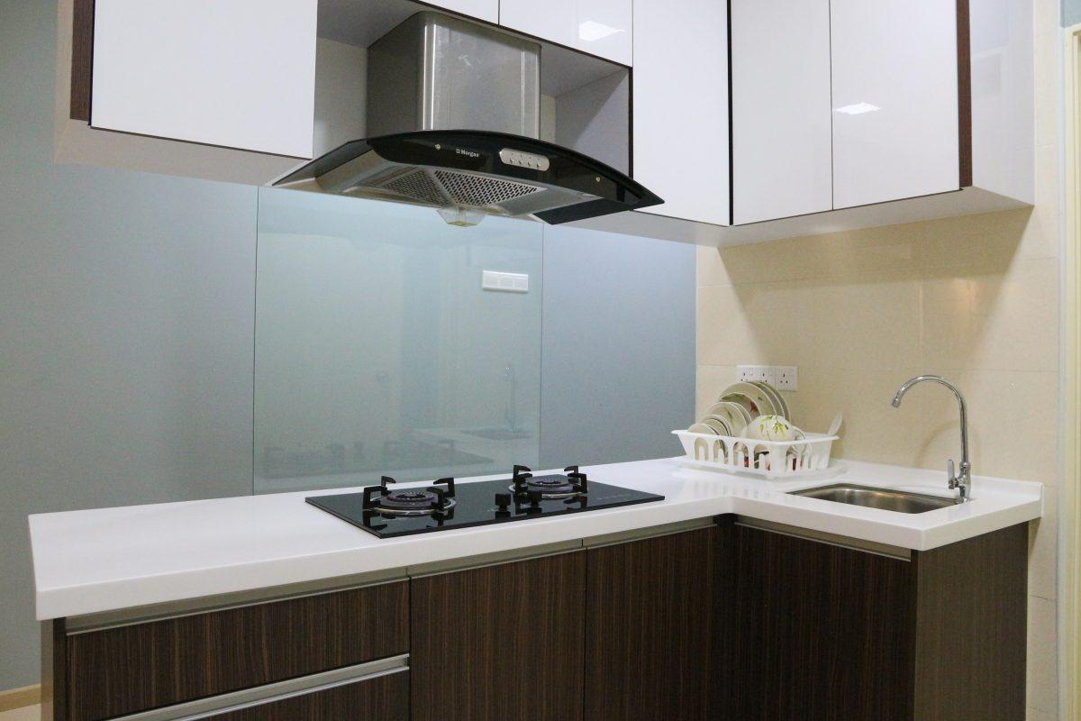 vista alam interior design homestay - kitchen