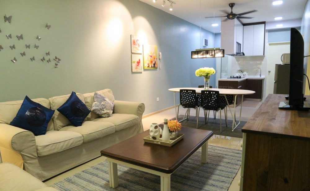 789 sqft condo in shah alam becomes popular airbnb homestay for Design homestay