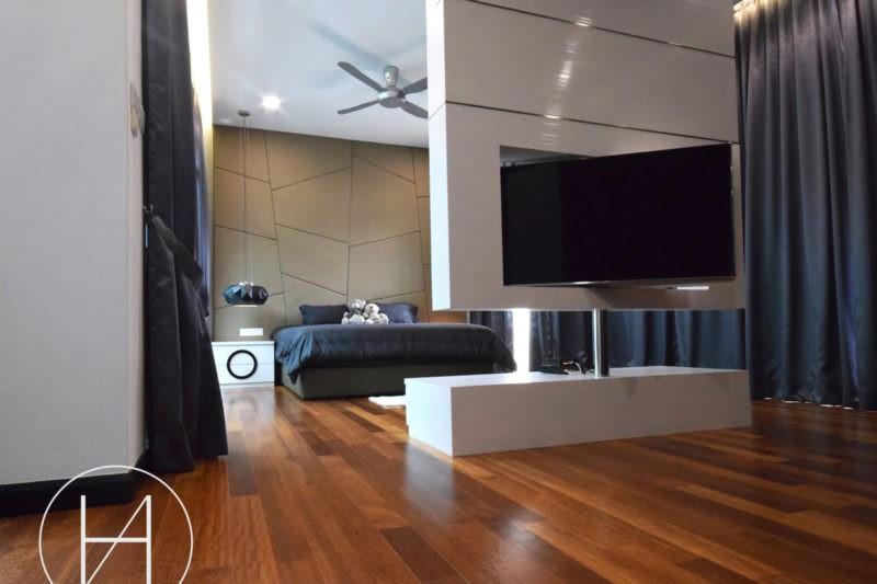 Hatch design. master bedroom.