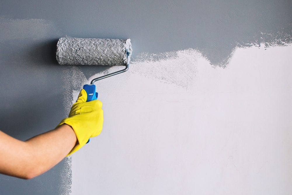 Painting the wall - painting services from Recommend.my