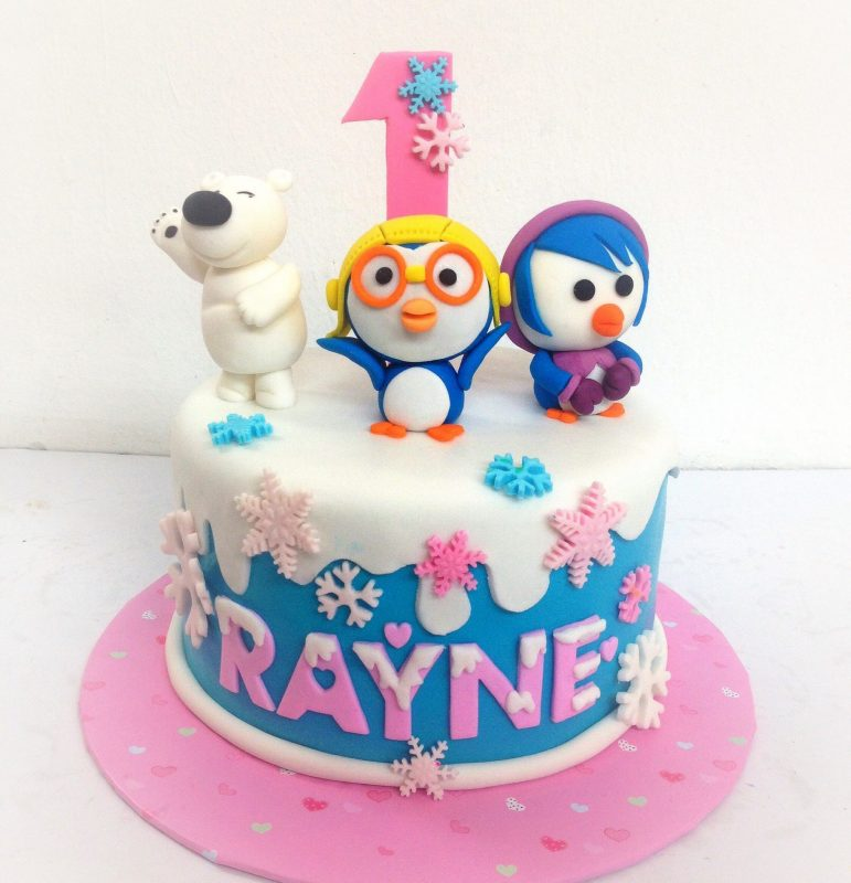 13 Cute Pororo Cakes For Your Kids
