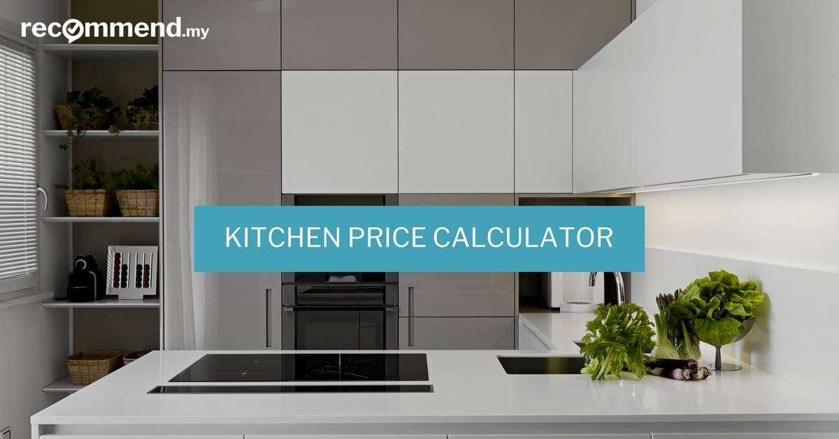 Kitchen Renovation Price Estimator