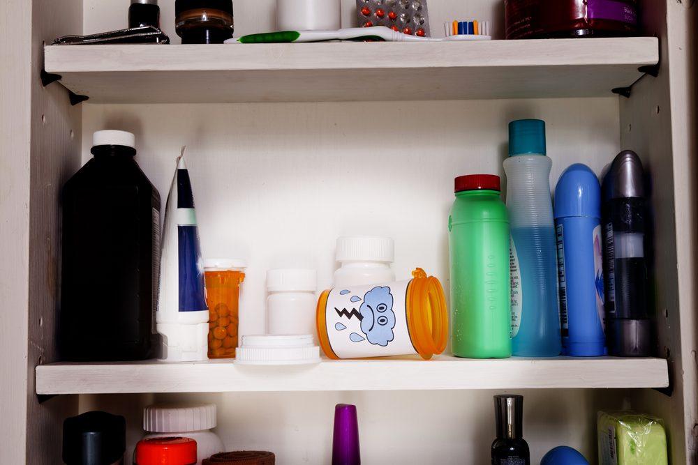 Dog-friendly home: medicine cabinet