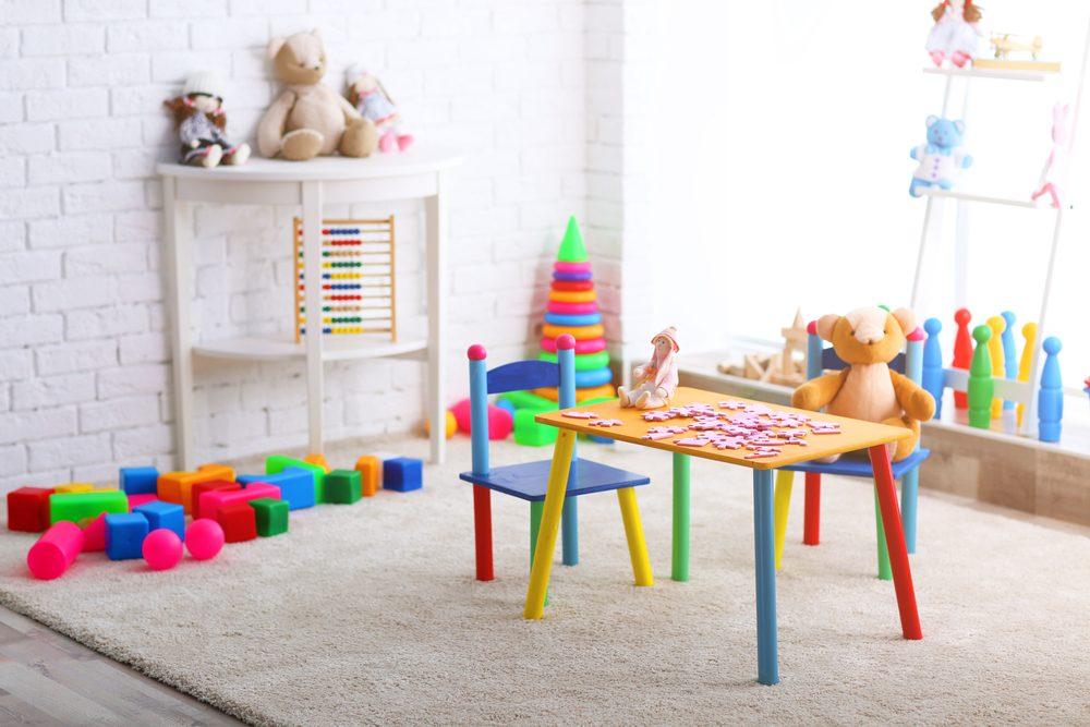 Play area in your bedroom design