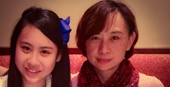 Cassandra Hsiao and Mom. Source