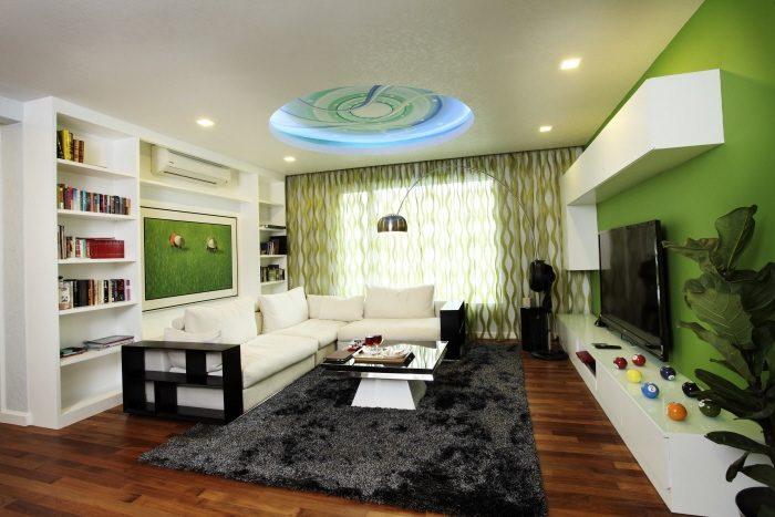 Semi D House in Rafflesia, Damansara Perdana. Project by: Hatch Design