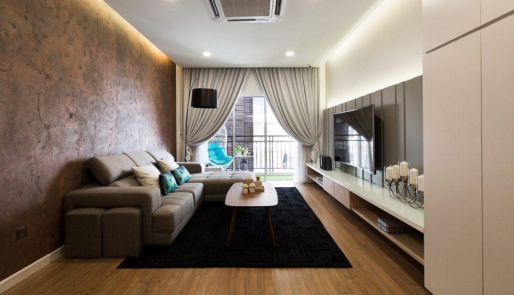 Condominium in Mont Kiara. Project by: Box Creative