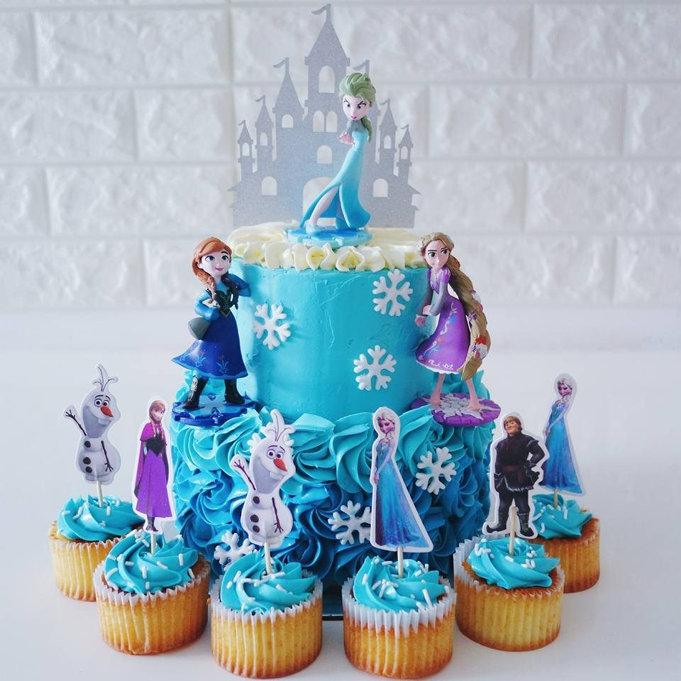 Rapunzel Cakes And Cupcakes