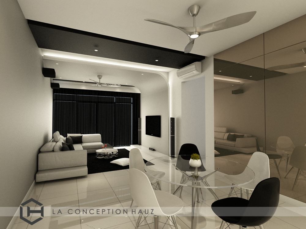 Condominium in Z Residence, Bukit Jalil by La Conception Hauz