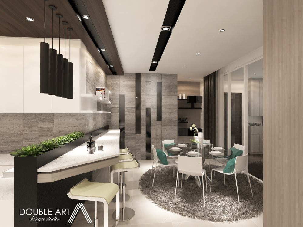 Condominium in Sunway Vivaldi, Mont Kiara by Double Art Design Studio