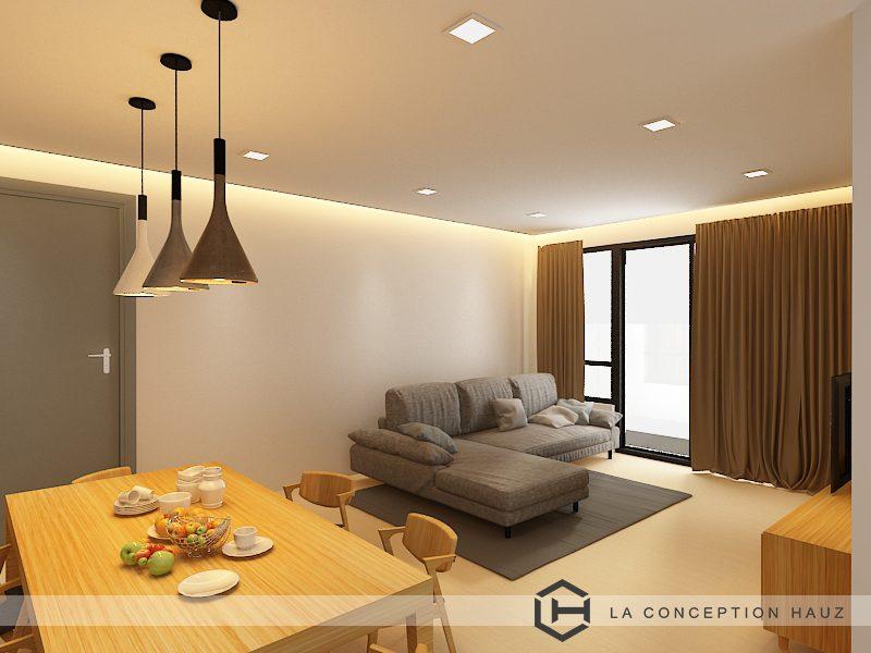 Condominium in USJ 1, Subang Jaya. Project by: La Conception Hauz