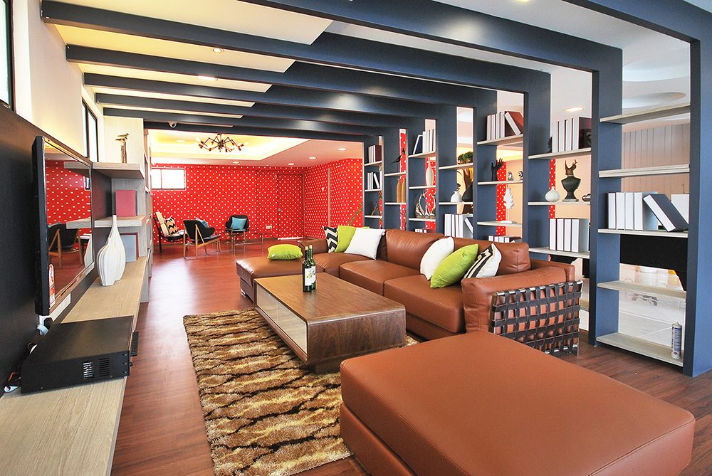 Incorporating vibrant and warm colours help to bring out different Feng Shui elements.