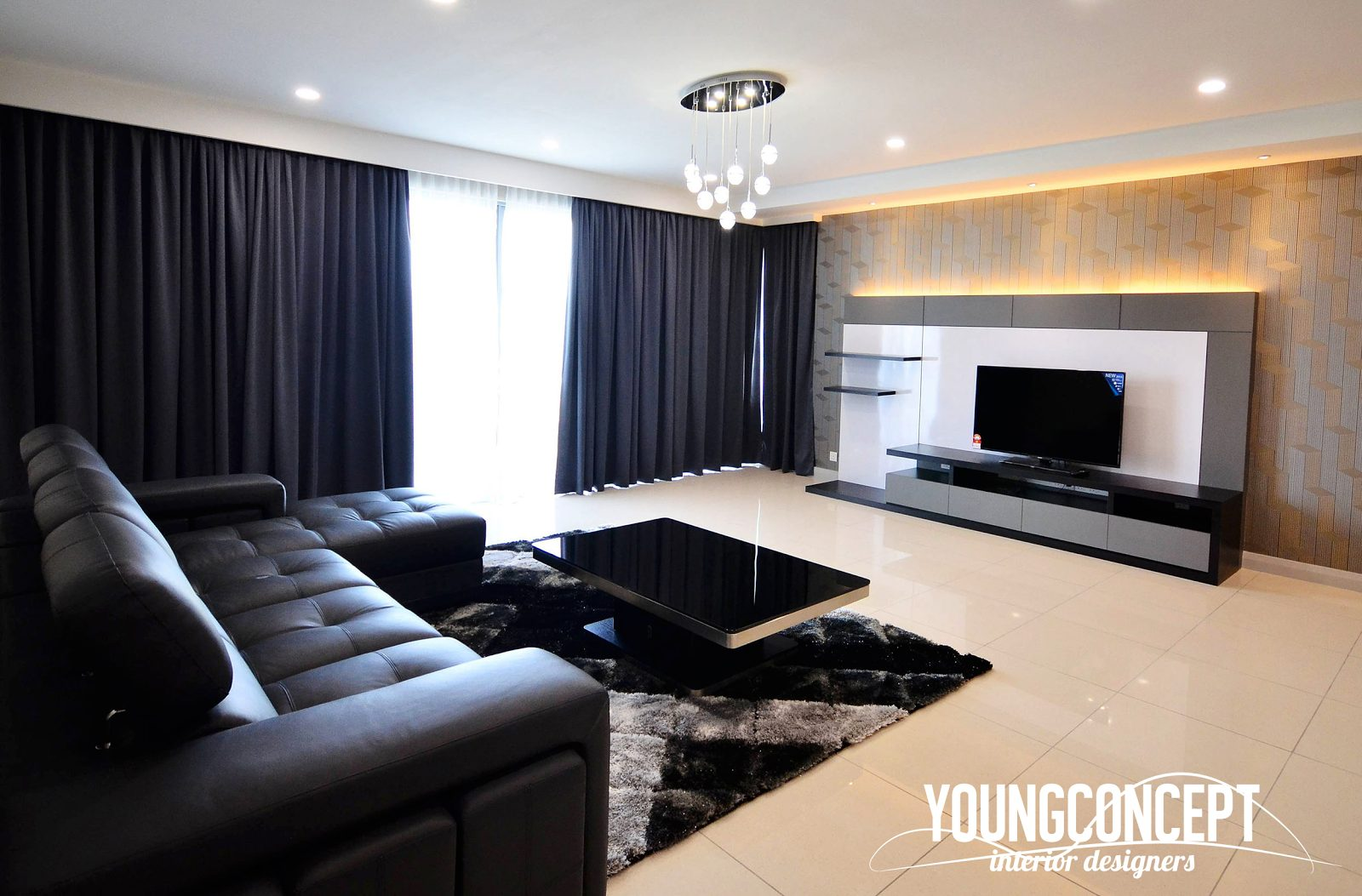 Condominium in Westside 2, Desa Park City. Project by: Young-concept-design-sdn-bhd