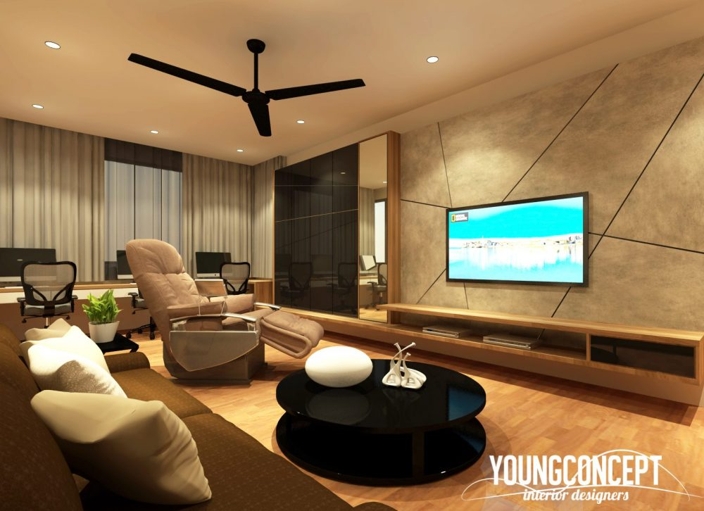 Semi Detached House in SD Villa, Shah Alam. Project by: Young-concept-design-sdn-bhd