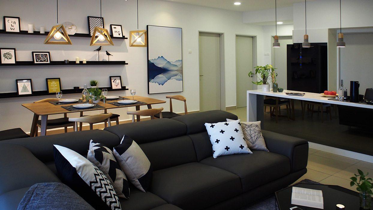 Condominium in Verde,Ara Damansara. Project by: Amorphous-design-sdn-bhd