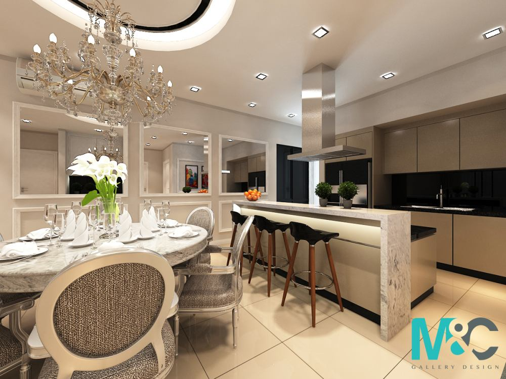 Condominium in Concerto, Mont Kiara by M&C Concept Design