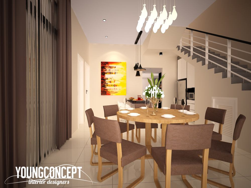 Condominium in Putra Prima, Puchong by Young Concept Design