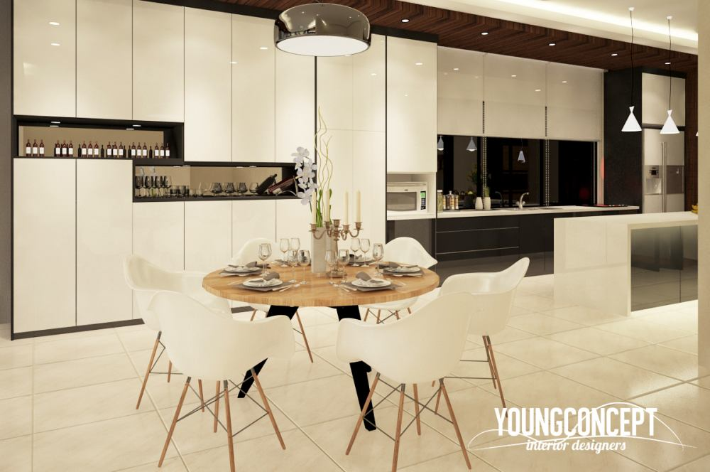 Semi-Detached House in Taman Segar, Cheras by Young Concept Design