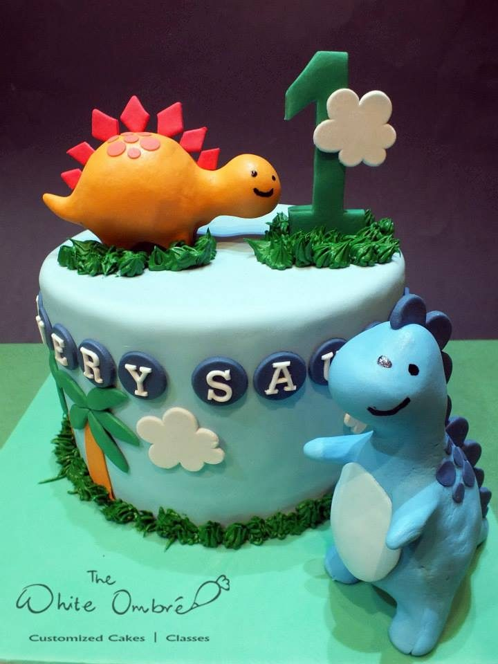 These Custom Made Dinosaur Cakes For Kids Are Adorable Recommend