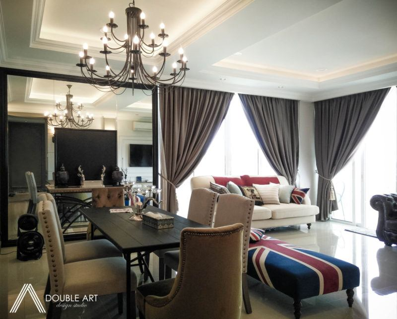 Condominium in Taman OUG by Double Art Design Studio