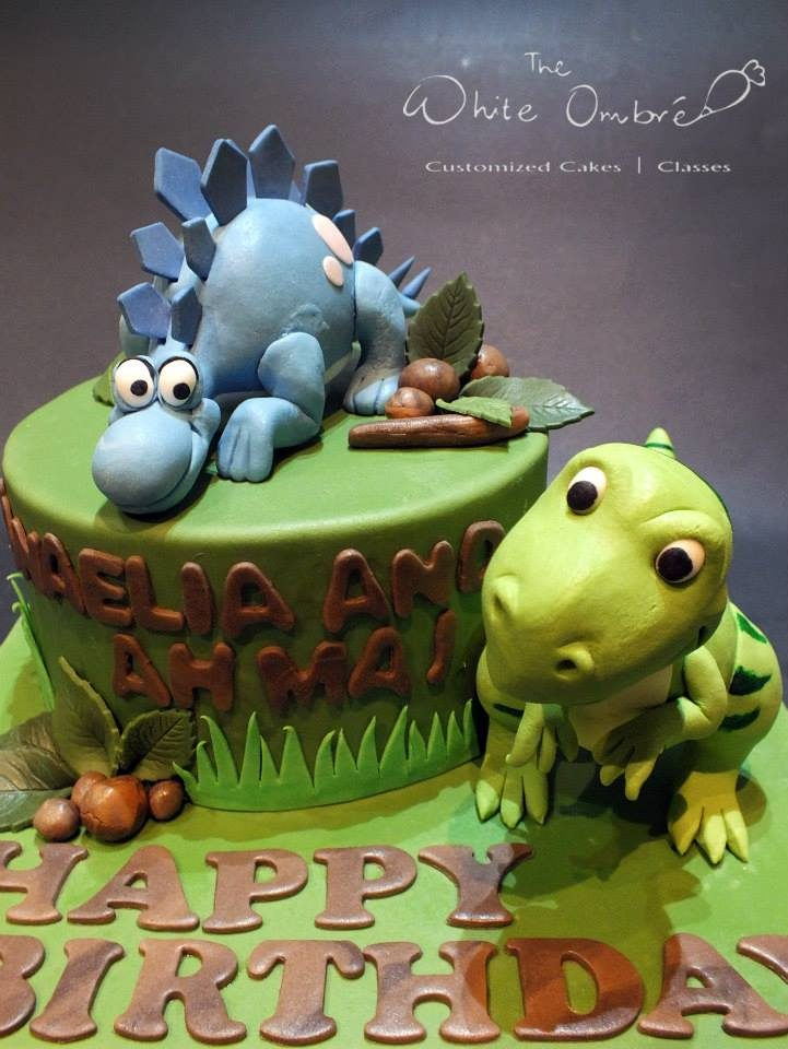 These Custommade Dinosaur Cakes For Kids Are Adorable Recommend