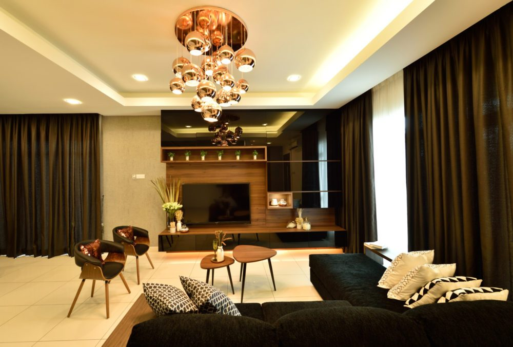 Condominium in Serene Residence RT2, Rawang. Project by: Nice Style Interior Design