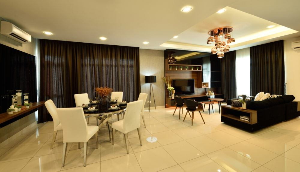 Bungalow in Serene Residence RT2, Rawang by Nice Style Interior Design