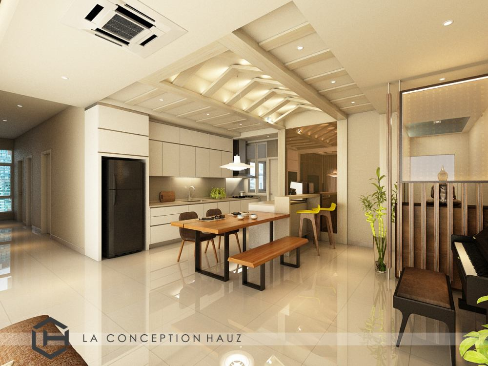 Condominium interior design at Damansara Foresta Project by : La Conception Hauz