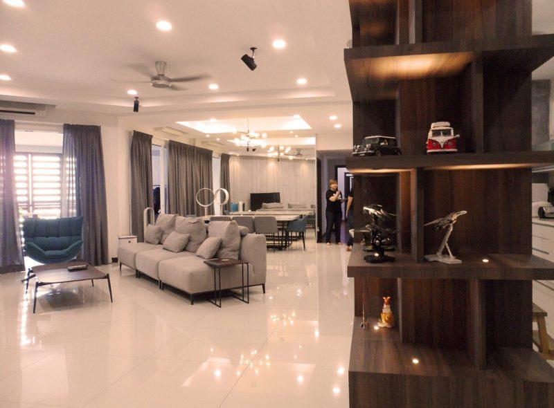 Condominium in BU 9, Bandar Utama. Project by: Furlab Enterprise