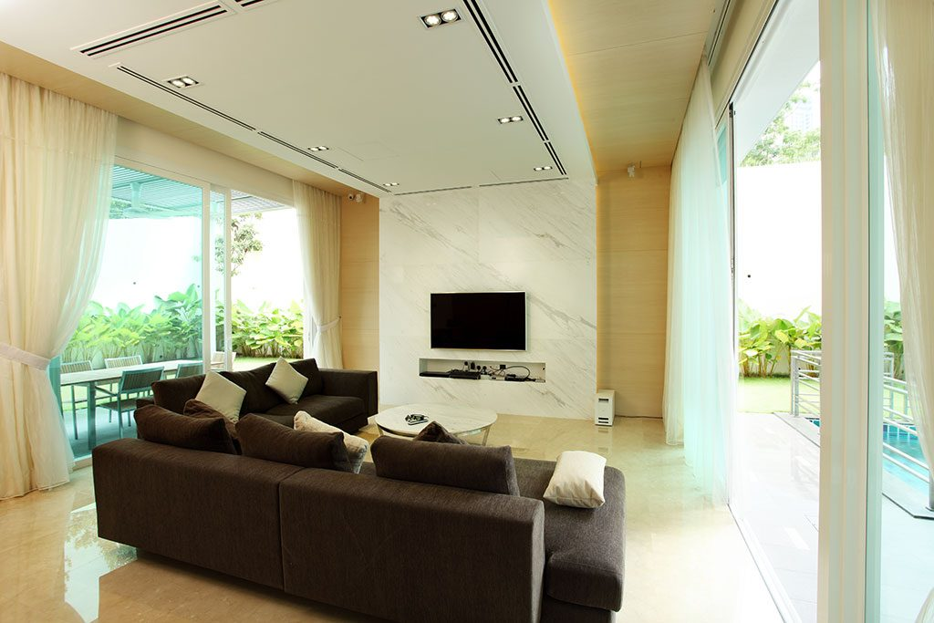 Bungalow in Mont Kiara. Project by: Hatch Design