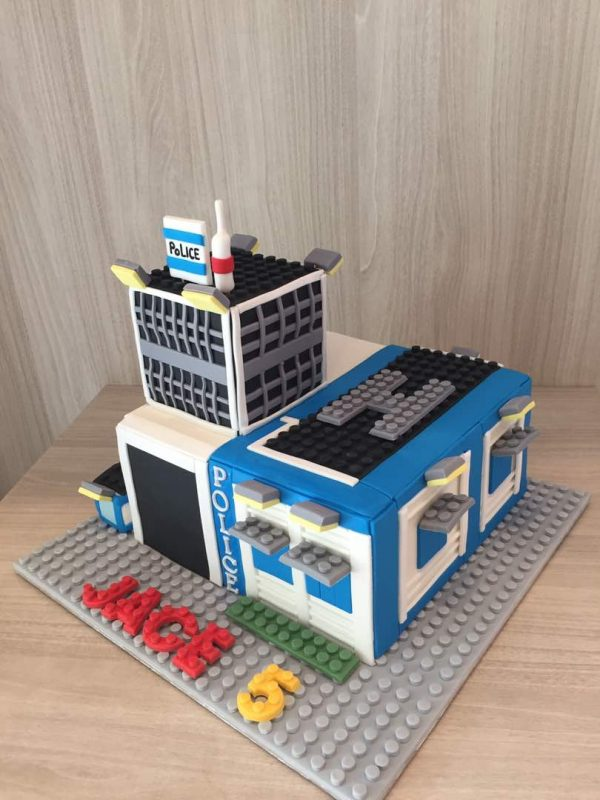 Lego City cake by Little House of Dreams