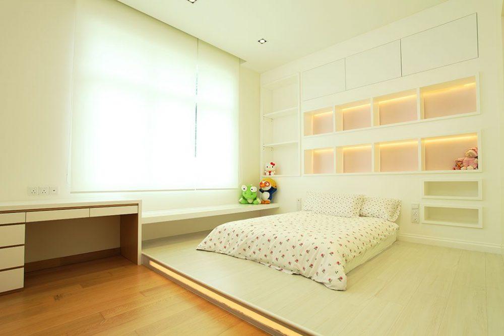 Platform bed designs in Malaysia. Photo: Hatch Interior Studio