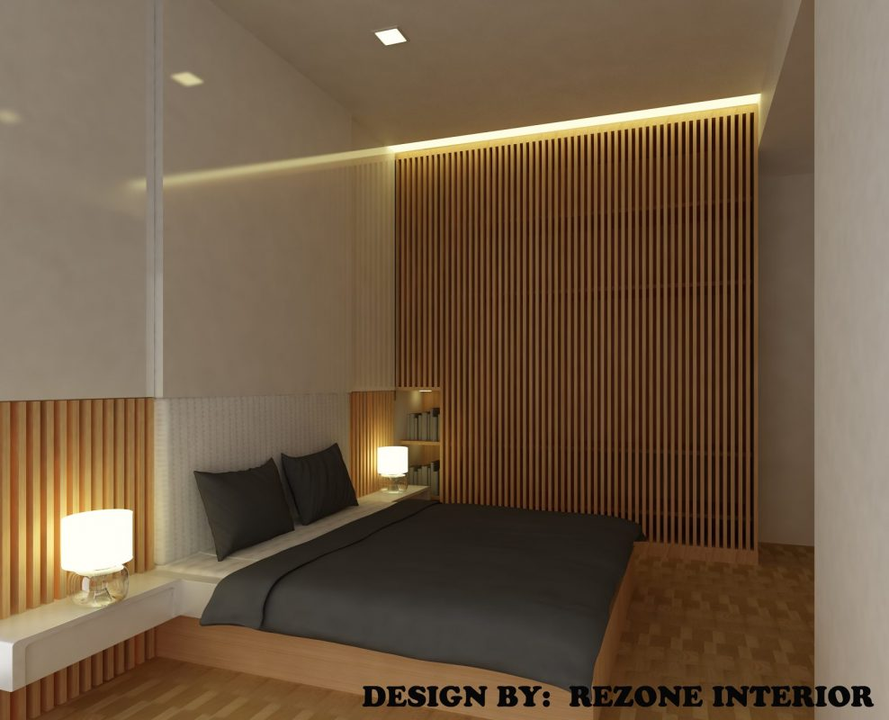 Platform Bed Concept for The Chan Family. Project by: Rezone Interior Design